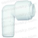 """Aquafilter A4ME2-W коліно 1/8 """"РН х 1/4"""" до шлангу"""