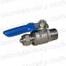 Aquafilter SEWBV1414 латунний кульовий краник 1/4 врізання у водогін