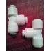 Aquafilter A4TU4-W трійник 3 х 1/4 до трубки, фітінг для зворотного осмосу