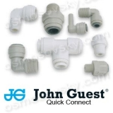 John Guest fittings, valves and fittings of reverse osmosis