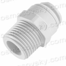John Guest Speedfit PP010822W 1 / 4OD by 1 / 4NPT the line adapter to the reverse osmosis filter