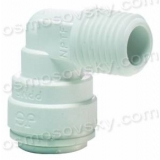 John Guest Speedfit PP480821W 1 / 4OD by 1/8 NPT corner for membrane housing