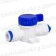 "Crane washing 1/4 ""QS - 1/4"" QC; BV-3 QC Filter reverse osmosis"