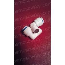 """Зворотний клапан з металевим сердечником 1/4""""QC-1/8""""НР; DCC-020B"""