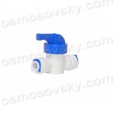 """Кран промивки 1/4""""QС - 1/4""""QС; DCC-025, прямий проточний кран 1/4 дюйма, кран промивки"""