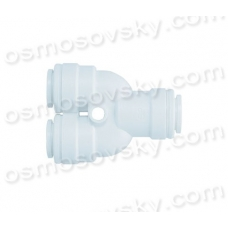 Organic WA-TWD0404 Tee 3 x 1/4 to a hose fitting for reverse osmosis