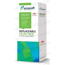 Membrane and postcarbon 4-5 Ecosoft CSVRO75ECO for reverse osmosis systems