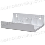Plastic mounting bracket for triple systems and reverse osmosis filters