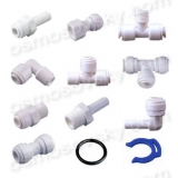 Aquafilter fittings, valves and fittings of reverse osmosis