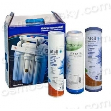 Atoll №203 set of prefilters for reverse osmosis systems, the United States - Russia