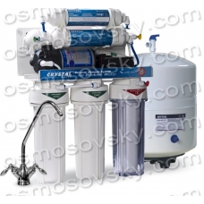 Crystal CFRO-550MP five-stage reverse osmosis filter with a mineralizer and pump, Ukraine