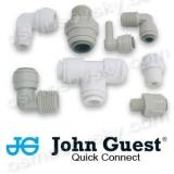 John Guest фітинги, клапана і фурнітура зворотного осмосу