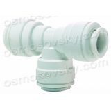John Guest Speedfit PP0208W 1 / 4OD Union Tee Tee to reverse osmosis filters