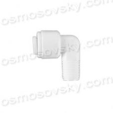 """Organic WA-ME0402 коліно 1/8 """"РН х 1/4"""" до трубки, фітінг для корпусу мембрани"""