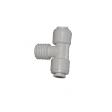 Organic WA-MBT0404 Tee 1/4 x 1/4 hose to the RN x 1/4 to a hose fitting for reverse osmosis