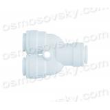 Organic WA-TWD0404 Tee 3 x 1/4 hose to