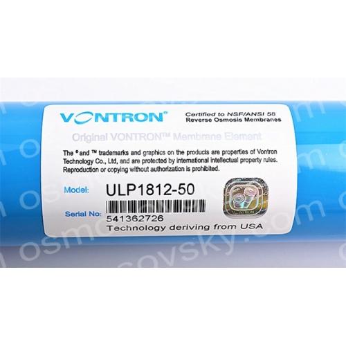 Vontron Ulp 1812 50 Membrane Reverse Osmosis Membrane