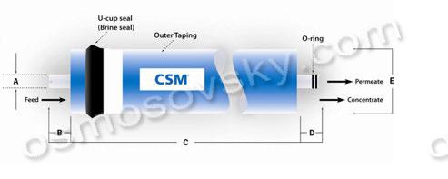 схема мембраны csm